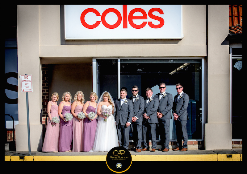 Coles Wedding Photography by Glenn Alderson
